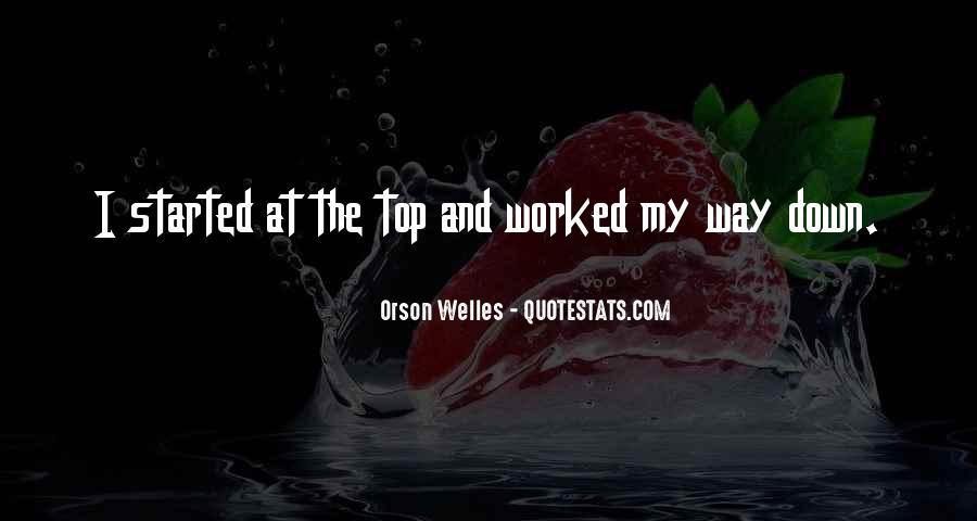 Welles's Quotes #370265