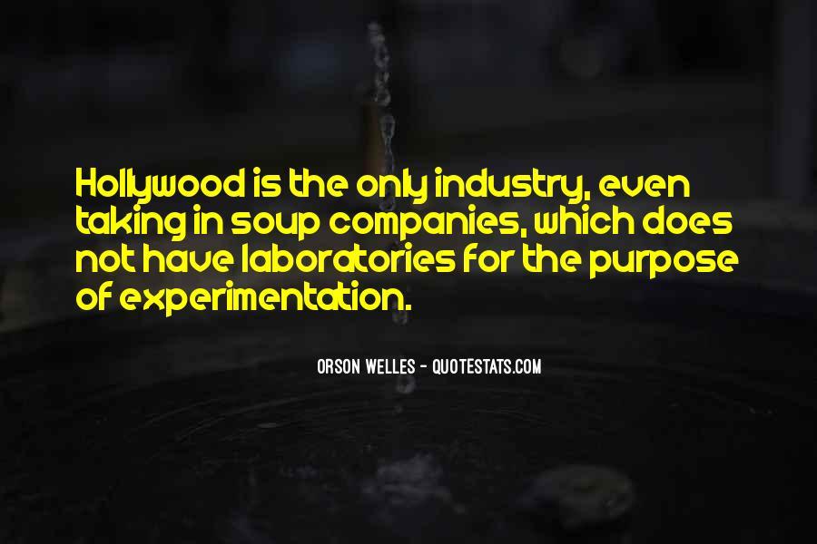 Welles's Quotes #420016