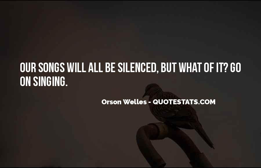 Welles's Quotes #467077