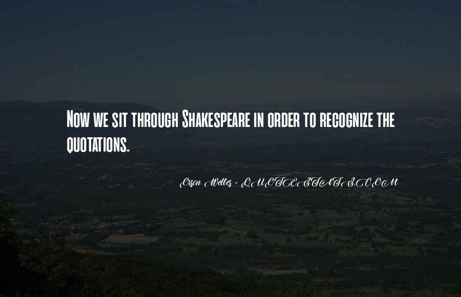 Welles's Quotes #503145