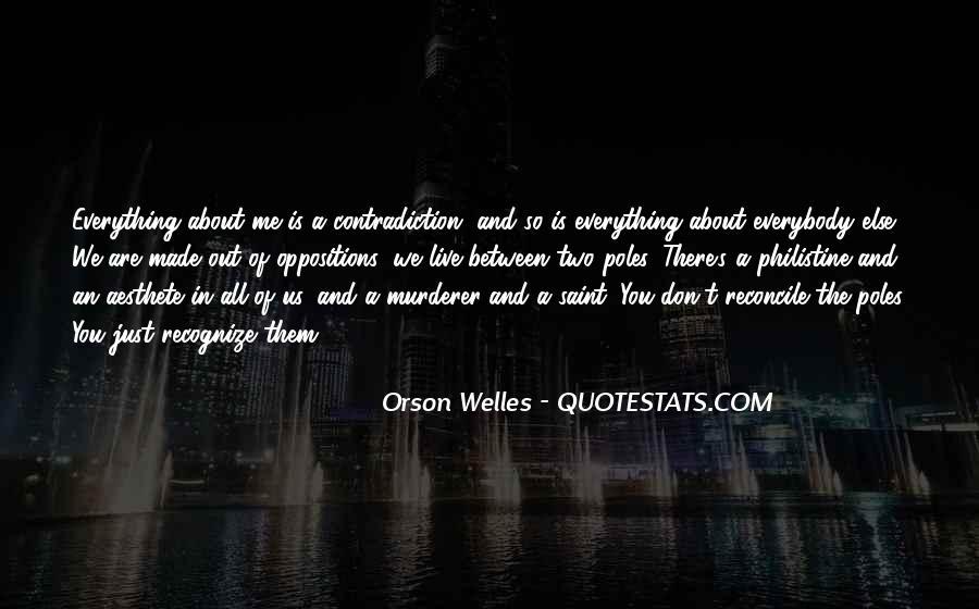 Welles's Quotes #836635