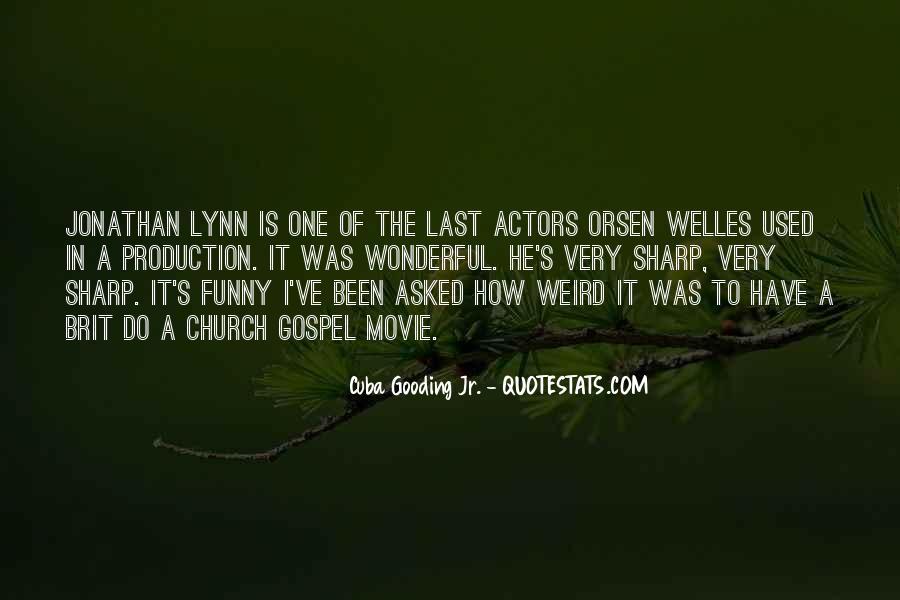 Welles's Quotes #869239