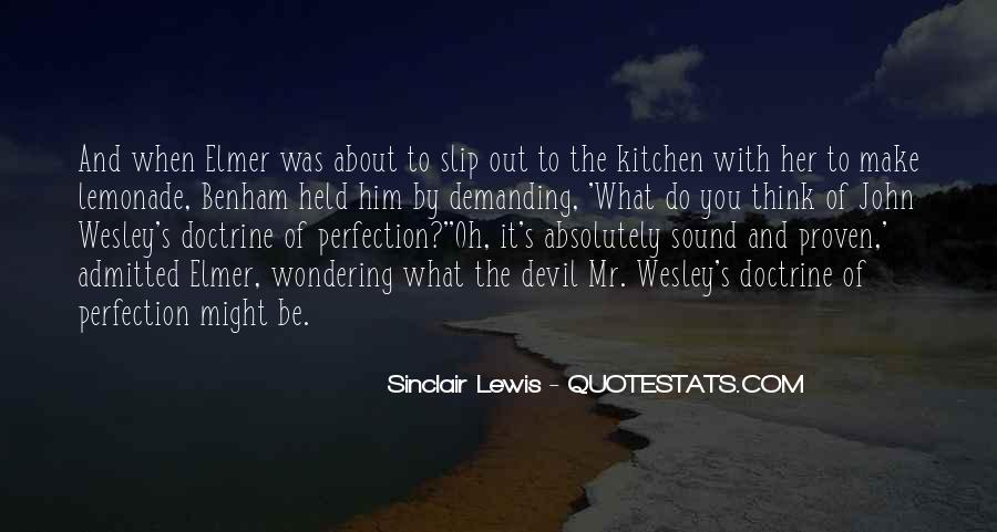 Wesley's Quotes #1066608