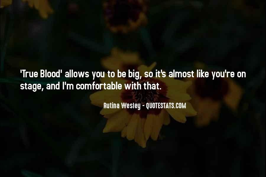 Wesley's Quotes #144374