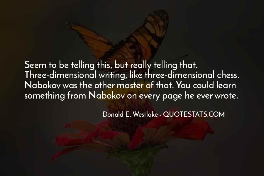 Westlake Quotes #1087300
