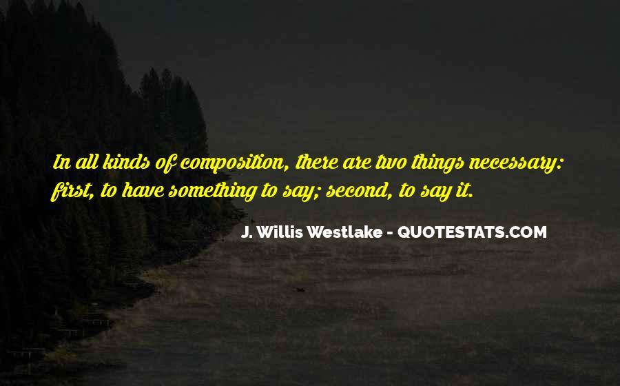 Westlake Quotes #1754979