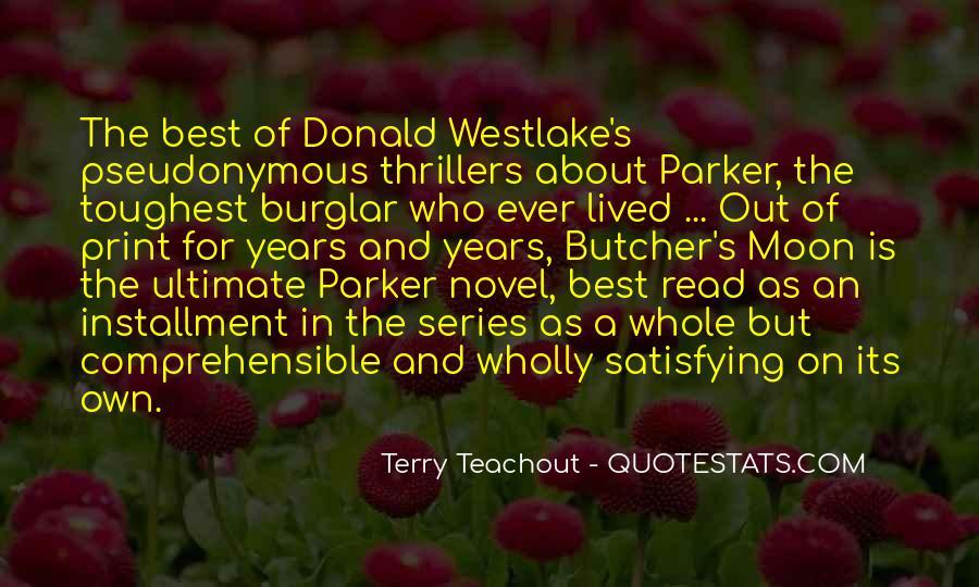 Westlake Quotes #181835