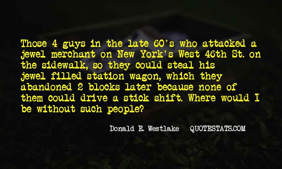Westlake Quotes #227459