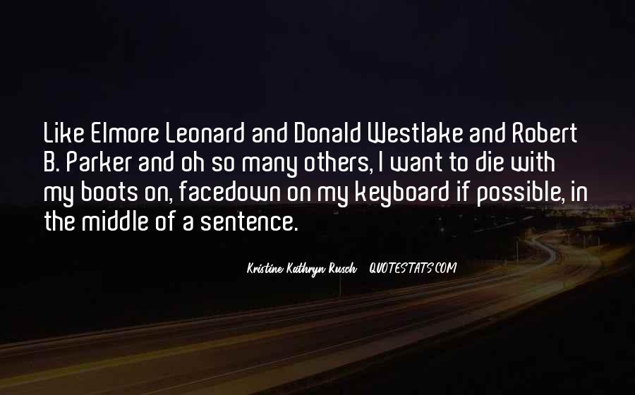 Westlake Quotes #794870