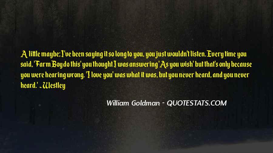 Westley's Quotes #1005626