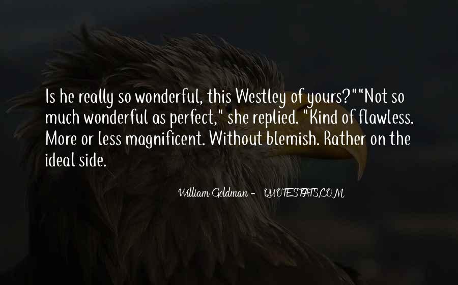 Westley's Quotes #1803941