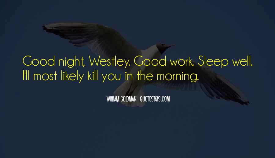 Westley's Quotes #605992