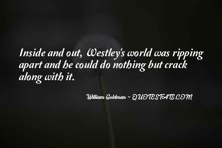 Westley's Quotes #908687