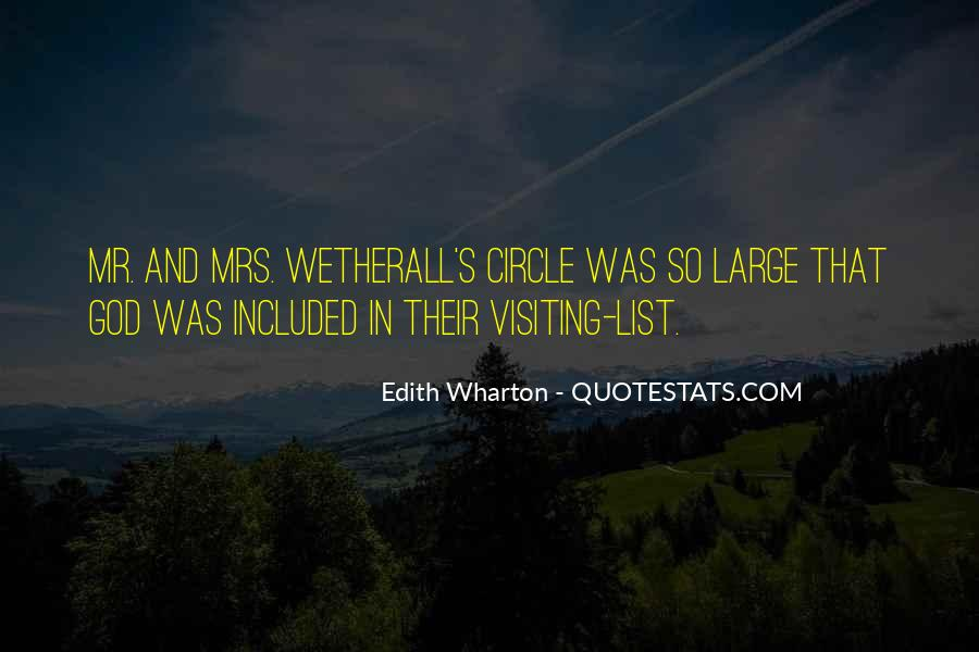 Wetherall's Quotes #1260620
