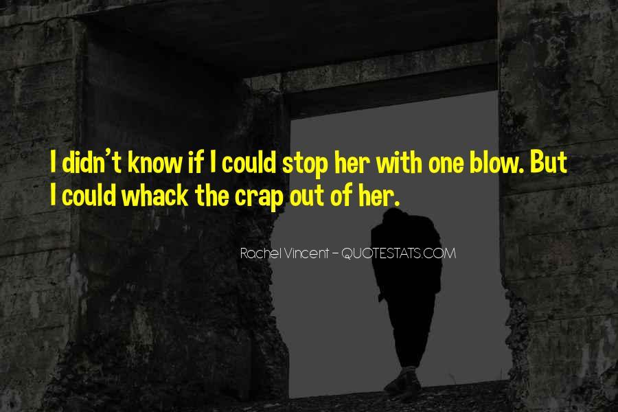 Whack Quotes #1361808