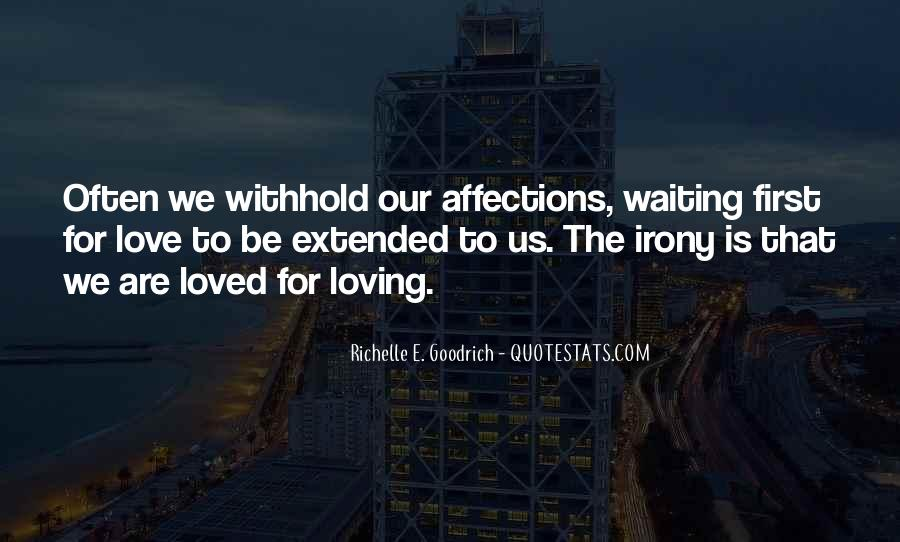 Quotes About Loving The Way You Are #4812