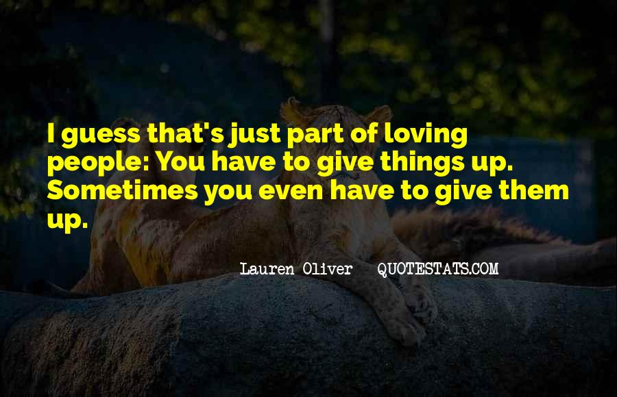 Quotes About Loving The Way You Are #9667
