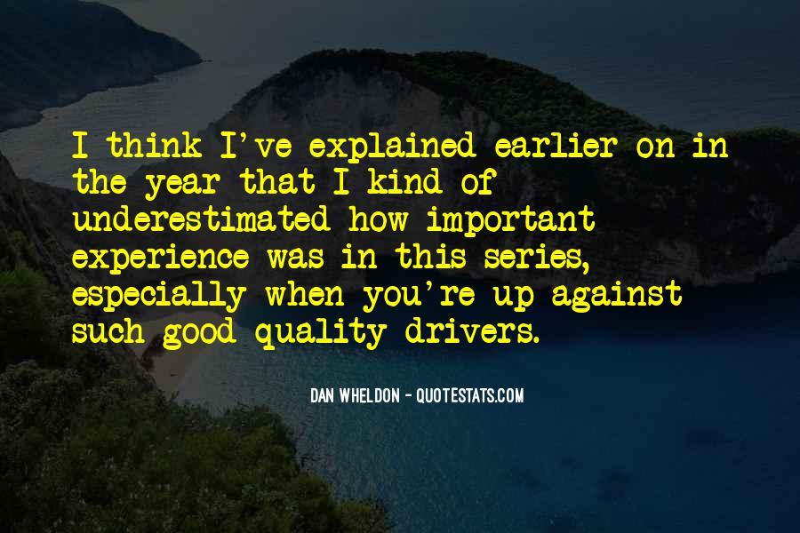 Wheldon Quotes #561235