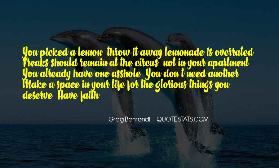 Quotes About Lemonade #1015645