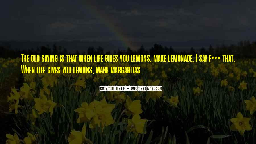 Quotes About Lemonade #1041577