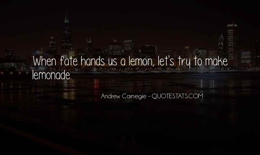 Quotes About Lemonade #1090656