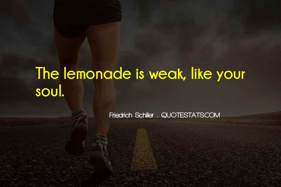 Quotes About Lemonade #1106605