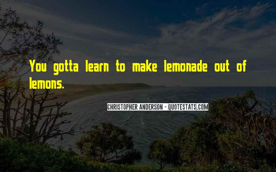 Quotes About Lemonade #1209759