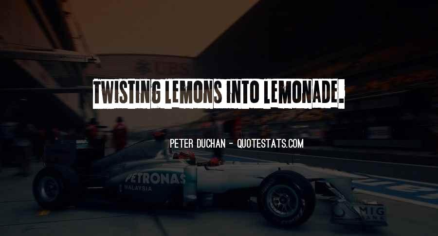 Quotes About Lemonade #1370068