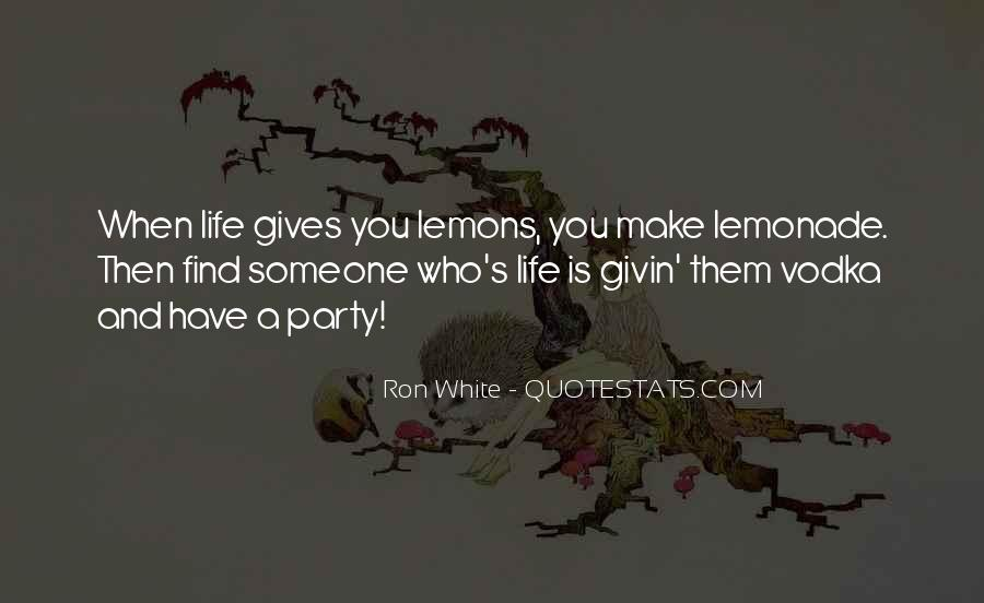 Quotes About Lemonade #143322