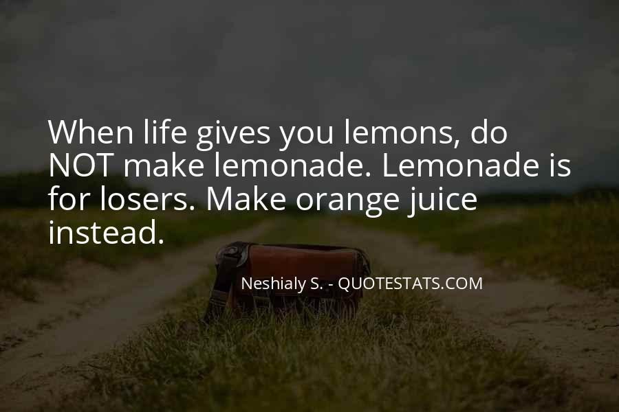 Quotes About Lemonade #1442856