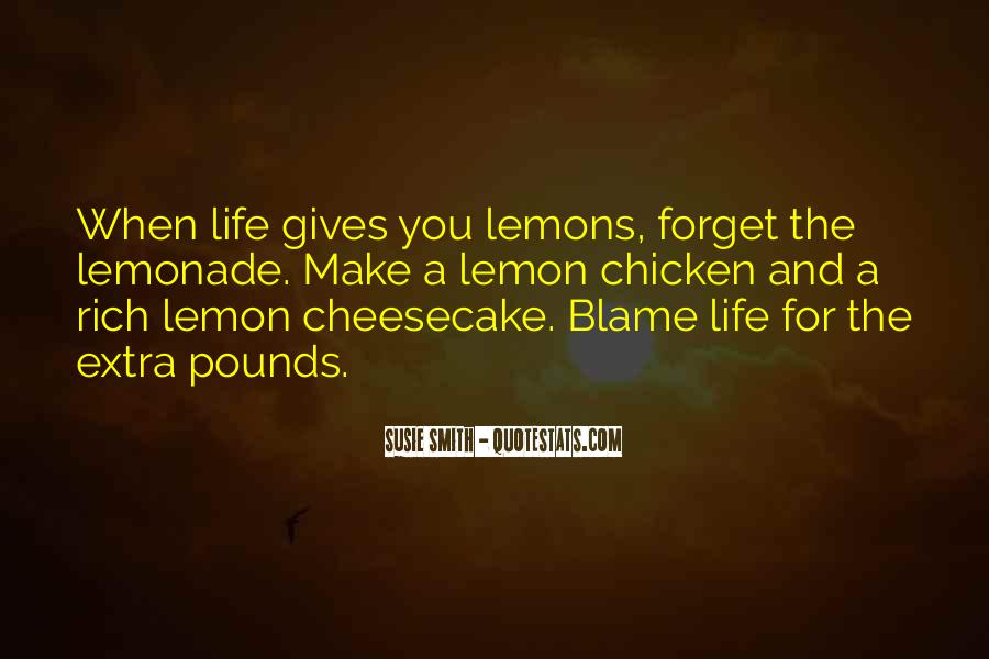 Quotes About Lemonade #399981