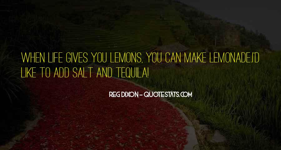 Quotes About Lemonade #416531