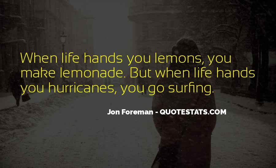 Quotes About Lemonade #517111