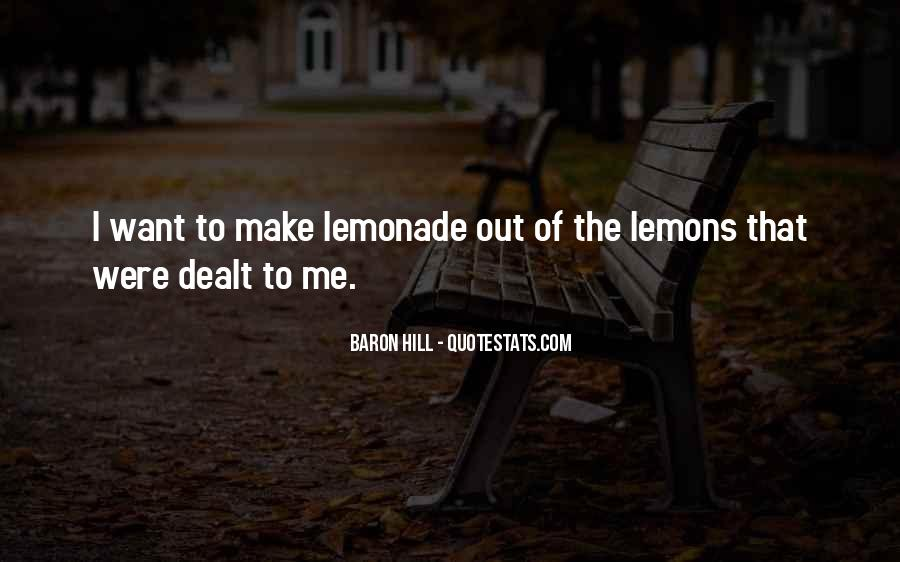 Quotes About Lemonade #518488