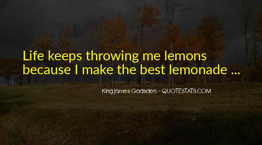 Quotes About Lemonade #579429