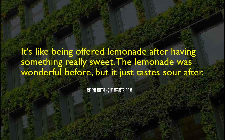Quotes About Lemonade #639703