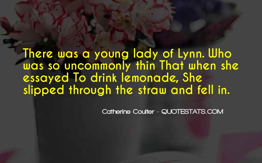 Quotes About Lemonade #73169