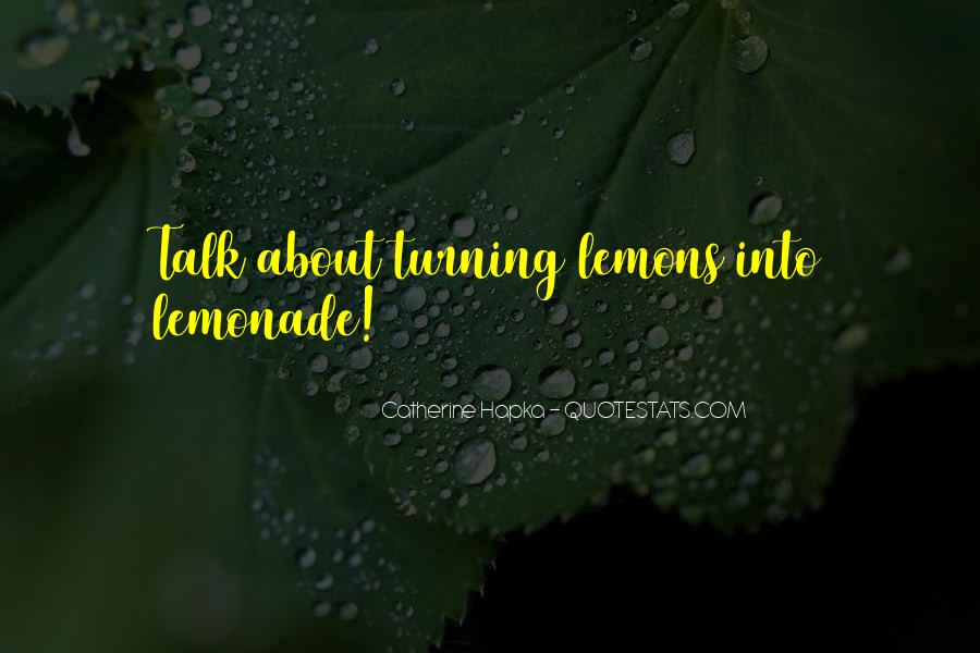 Quotes About Lemonade #84245