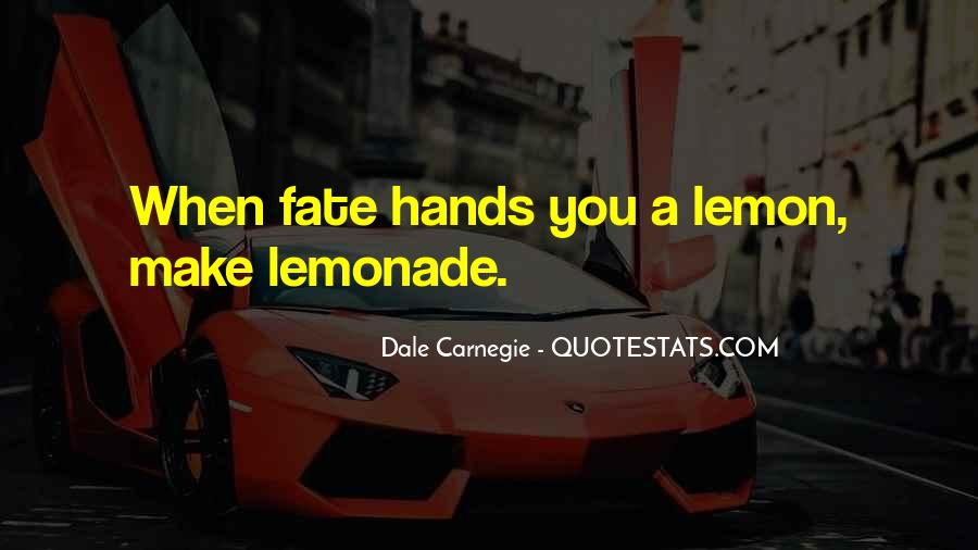 Quotes About Lemonade #917219