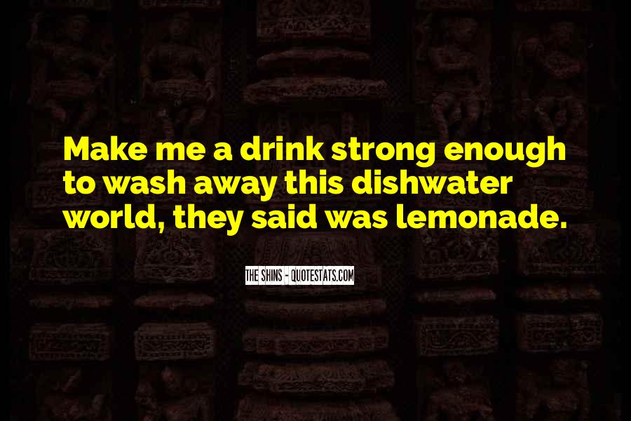 Quotes About Lemonade #986383