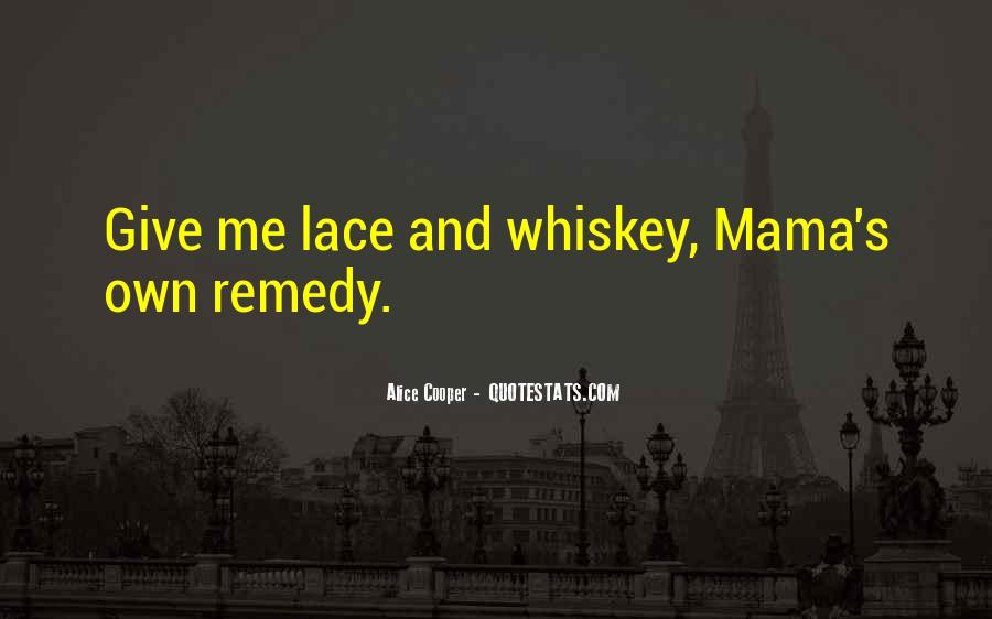 Whiskey's Quotes #1634565