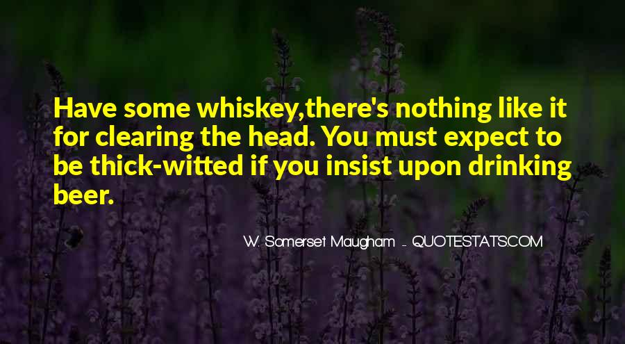 Whiskey's Quotes #758655