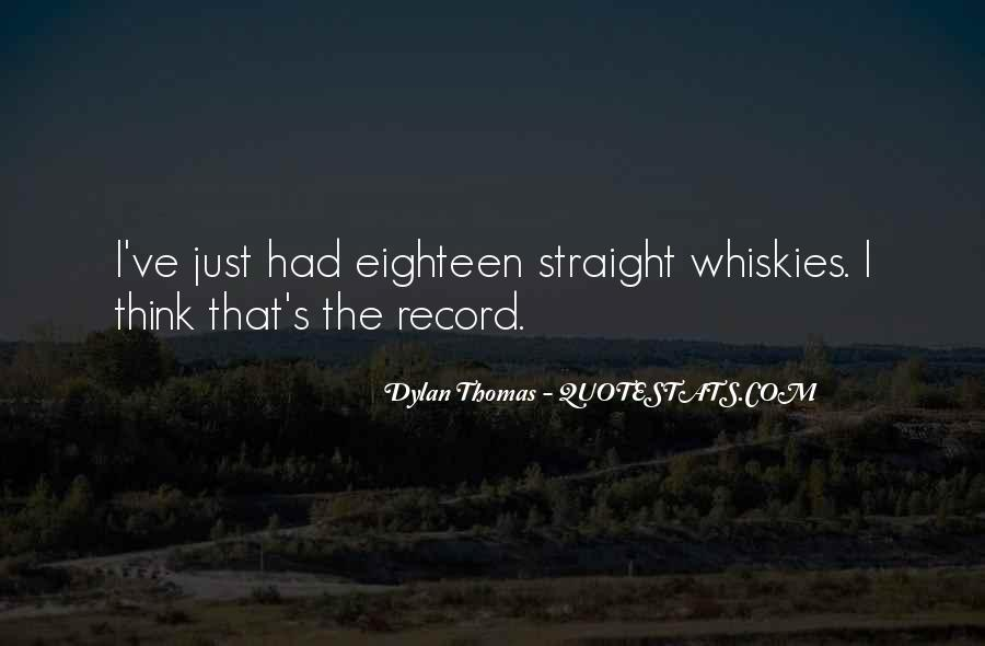 Whiskies Quotes #1801823