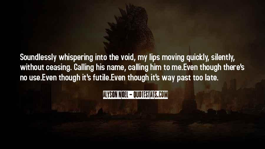 Whispering's Quotes #1235401