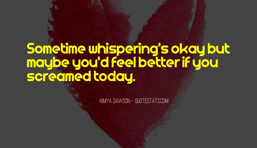 Whispering's Quotes #1258832