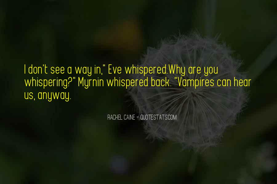 Whispering's Quotes #23380