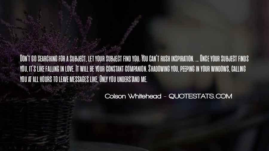 Whitehead's Quotes #1075402