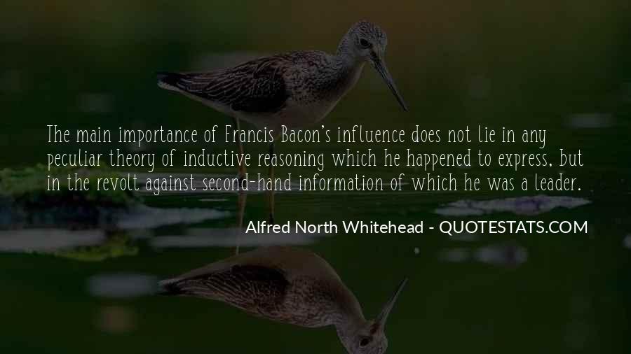 Whitehead's Quotes #1668278