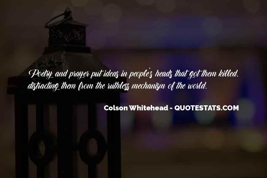 Whitehead's Quotes #1691078