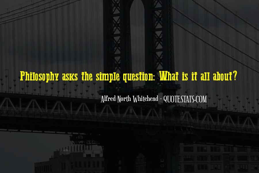 Whitehead's Quotes #173195